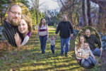 Family Portrait Session Collage